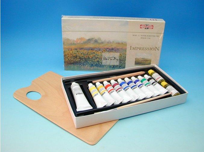 Kazeta olejových barev