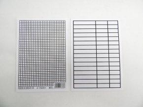 Podložka A5 Papír linka+čtvereček