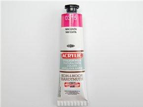 Barva akrylová 40ml magenta